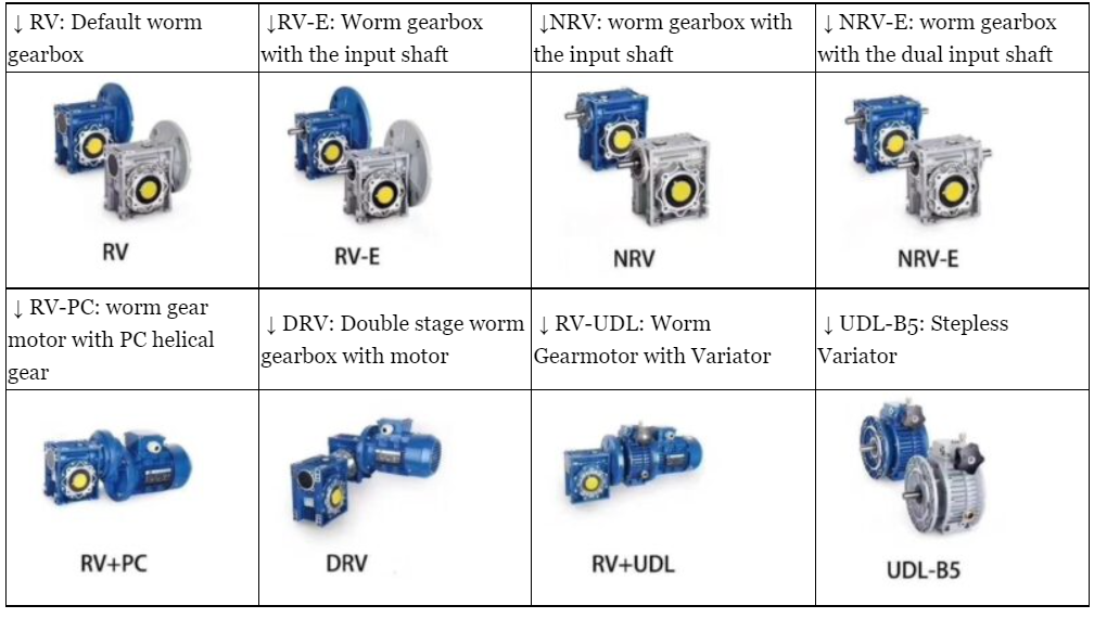 Worm Drive Gearbox Brief Introduction and Model Selection