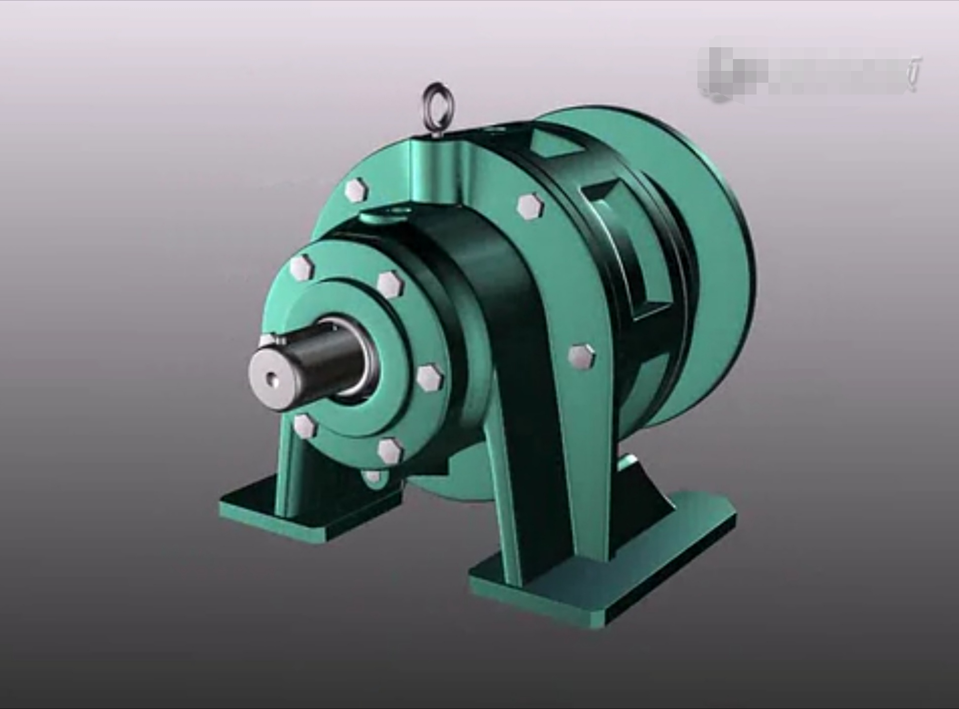 Cycloidal Pinwheel Gear Reducer Disassembly Animation