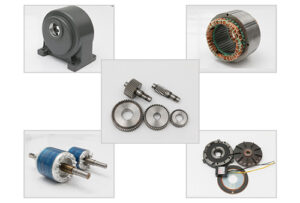 Small size Gearmotor Internal Structure