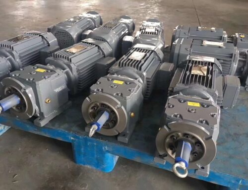 What's the requirements for industrial gearbox maintenance during the running-in period ?