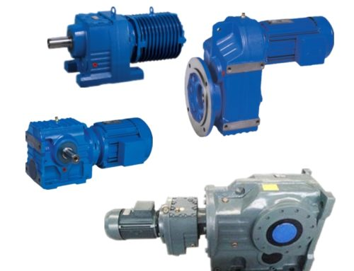 What is the difference for modular design helical gear reducer?